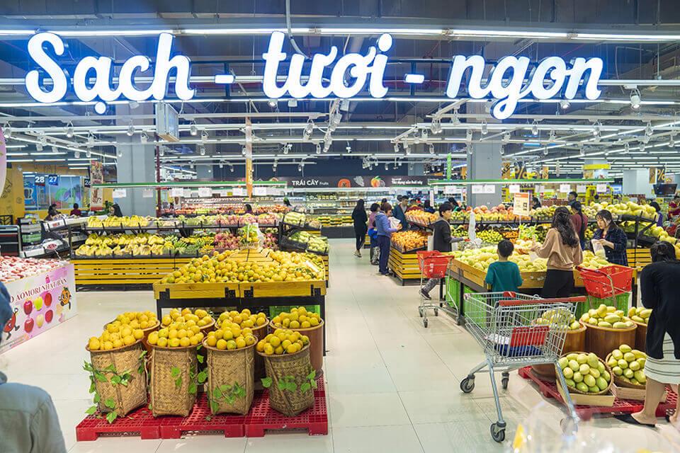 Quầy Inox siêu thị