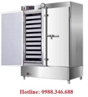 Tủ hấp cơm gas và điện 100kg