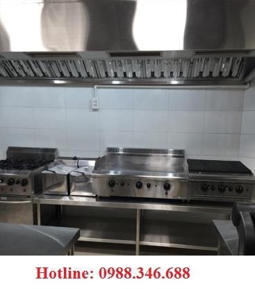 Hệ thông bếp inox nấu ăn cho nhà hàng