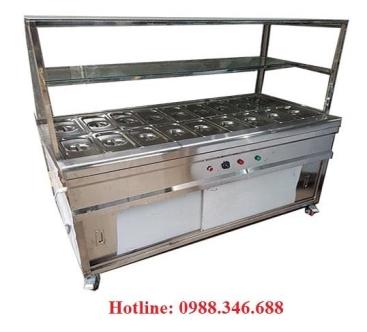 Tủ hâm nóng thức ăn 18 ngăn