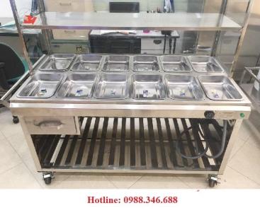 Tủ hâm nóng thức ăn 12 ngăn